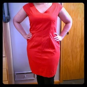 Tomato Red Mossimo Wiggle Dress size 18